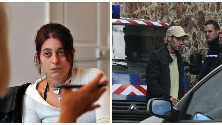 Alexandrine Brugerolle et Sébastien Ribière(photomontage). (MAXPPP)