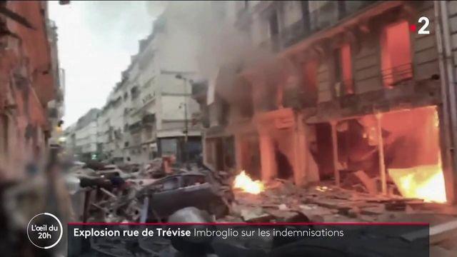 L'Oeil du 20h 27/09/2021 - Explosion rue de Trévise : Imbroglio sur les indemnisations