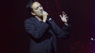 "Malik Djoudile 2 octobre 2019lors du concert ""Immortel Bashung"" au Grand Rex à Paris, en hommage à Alain Bashung. (SADAKA EDMOND/SIPA)"
