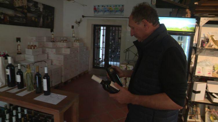 Les viticulteur varois inquiets face à la fermeture des bars et restaurants marseillais. (France 3 Provence-Alpes)