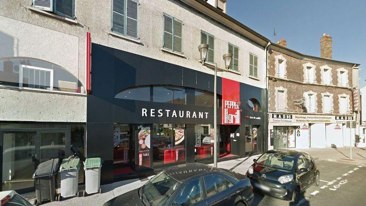 """Capture écran Google Maps du restaurant """"Pepper Grill"""" situé à Saint-Ouen l'Aumône, lundi 23 novembre 2015. (GOOGLE MAPS)"""