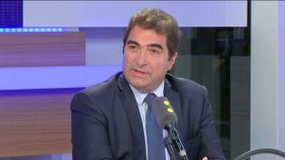 Christian Jacob, président du groupe Les Républicains, à l'Assemblée nationale, invité de franceinfo mercredi 14 décembre (RADIO FRANCE / FRANCEINFO)