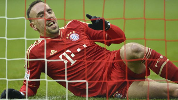 Franck Ribéry, l'ailier du Bayern Munich