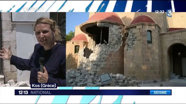Grèce : séisme sur l'île de Kos