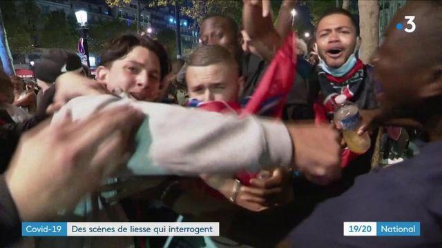Ligue des champions : polémique après la célébration de la victoire du PSG