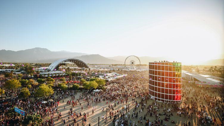 Des festivaliers à Coachella, le 21 avril 2019à Indio, en Californie. (RICH FURY / GETTY IMAGES NORTH AMERICA / AFP)