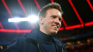 Julian Nagelsmann, nouvel entraîneur du Bayern Munich, ici avec le RB Leipzig le 2 septembre 2020 lors d'un match de Bundesliga entre son club actuel et son futur employeur (Frank Hoermann / SVEN SIMON / SVEN SIMON / dpa Picture-Alliance via AFP)