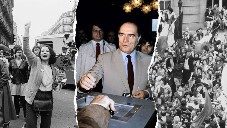 François Mitterrand. (JEAN-CLAUDE DELMAS / AFP)