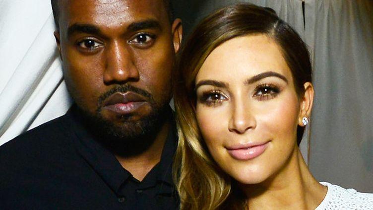 Kanye West et Kim Kardashian.  (Eugene Golorgursky / Getty Images / AFP)