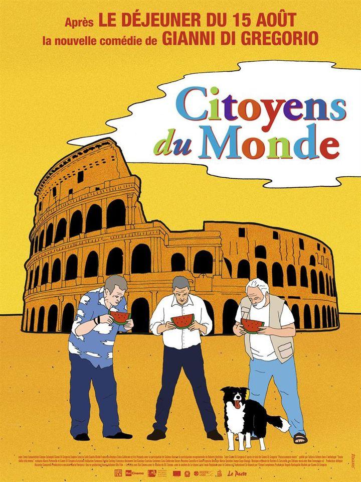 """""""Citoyens du monde"""" de Gianni Di Gregorio, en salle le 26 août. (Le Pacte)"""