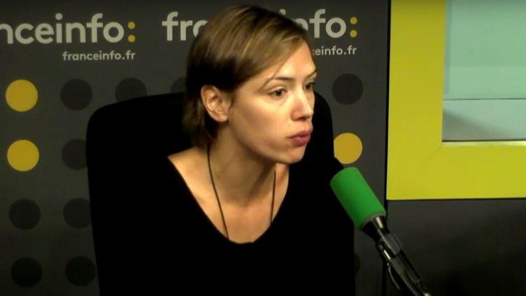 La sociologue Joanie Cayouette-Remblière, chargée de recherche à l'Institut National d'Etudes Démographiques. (FRANCEINFO)