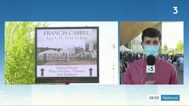 Agen : premier concert de Francis Cabrel depuis 15 mois