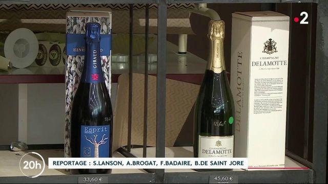 Covid-19 : les Français boudent le champagne