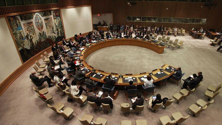 Une réunion du Conseil de sécurité de l'ONU, le 26 septembre 2011, à New York (Etats-Unis). (SHANNON STAPLETON / REUTERS)