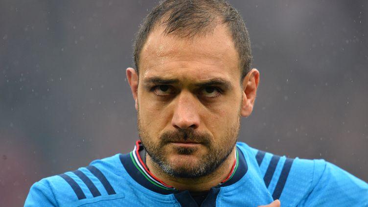 Marco Bortolami a été écarté du groupe italien qui participera à la Coupe du Monde (GLYN KIRK / AFP)
