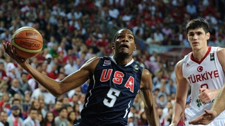 Kevin Durant a encore fait parler tout son talent lors de la finale entre les Etats-Unis et la Turquie.