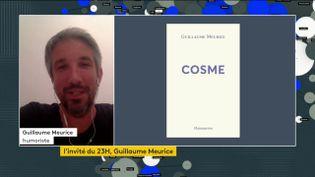 "L'humoriste Guillaume Meurice et son premier roman ""Cosme"" (FRANCEINFO)"
