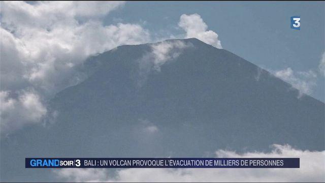 Indonésie : Bali évacuée avant une éruption volcanique