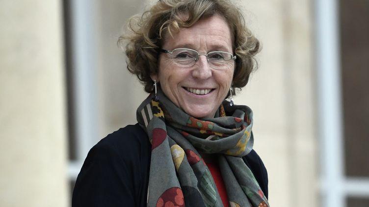 La ministre du Travail Muriel Pénicaud à l'Elysée, à Paris, le 12 janvier 2018. (STEPHANE DE SAKUTIN / AFP)