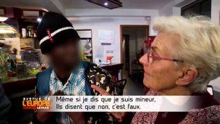 Avenue de l'Europe. La police française renvoie illégalement les migrants mineurs en Italie (FRANCE 3 / FRANCETV INFO)
