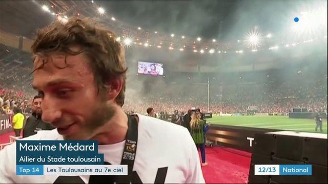 Rugby : les Toulousains au 7e ciel après leur nouveau sacre en Top 14
