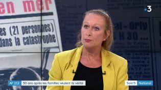Sylvie Yrissou, fille d'une victime du crash de l'AF212 fin 1969 (France 3)