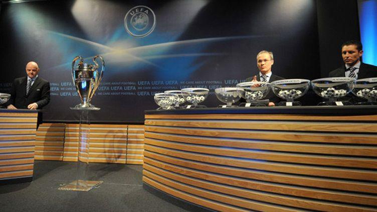 Le tirage au sort aura lieu vendredi midi à Nyon (Suisse). (SEBASTIEN FEVAL / AFP)