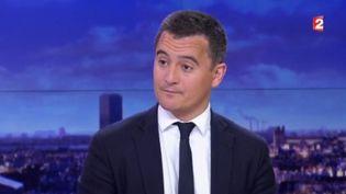 Gérald Darmanin, ministre de l'Action et des Comptes publics au journal de 20 heures de France 2le 29 juin 2017 (FRANCE 2)