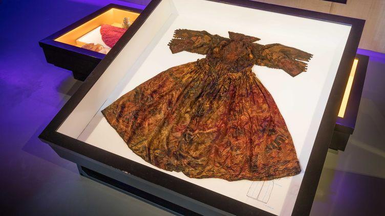 Les vêtements retrouvés sont dans un état de conservation remarquable.  (PEITER DE VRIES / MUSEUM KAAP SKIL / AFP)