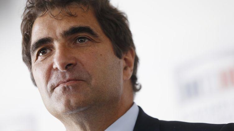 Christian Jacob, chef de file des députés UMP, à l'Assemblée nationale, à Paris, le 24 juin 2014. (THOMAS SAMSON / AFP)