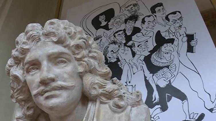 Cabu à la Comédie Française  (France 3 / Culturebox / capture d'écran / V. Cabut )
