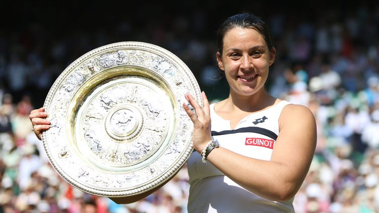 (Marion Bartoli avait remporté Wimbeldon en 2013 et mis un terme à sa carrière quelques semaines après © MAXPPP)