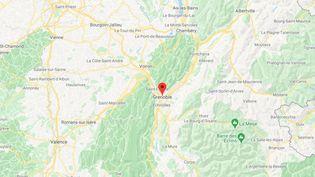 La commune de Grenoble en Isère. (GOOGLE MAPS / FRANCETV INFO)