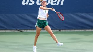 Fiona Ferro affronte Iga Swiatek au deuxième tour de l'US Open. (ELSA / GETTY IMAGES NORTH AMERICA)