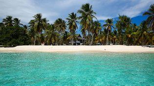 Le tourisme hors saison, un moyen d'aller chercher le soleil à moindre coût. Ici une plage de République Dominicaine. (ANTHONY MASSARDI / MAXPPP)