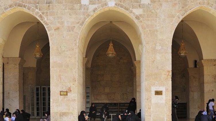 La Grande Mosquée des Omeyyades d'Alep avant destruction  (RABOUAN Jean-Baptiste / hemis.fr)