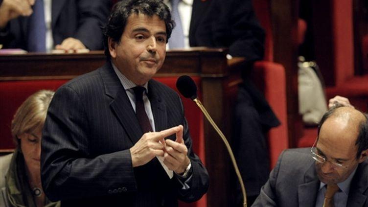 Pierre Lellouche, secrétaire d'Etat aux Affaires européennes. (AFP - Olivier Laban-Mattei)