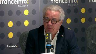 Didier Chenet,président du Groupement national des indépendants hôtellerie-restauration, était l'invité de franceinfo vendredi 13 décembre 2019. (FRANCEINFO / RADIO FRANCE)