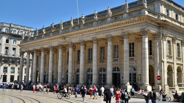 L'opéra de Bordeaux, le 5 avril 2013. (Photo d'illustration) (MAXPPP)