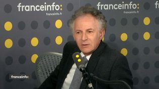 François Zimeray sur franceinfo le 8 avril. (RADIO FRANCE)