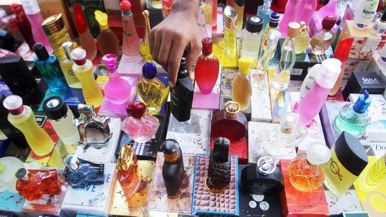 Photo d'illustration d'une boutique de parfum. (MAXPPP)