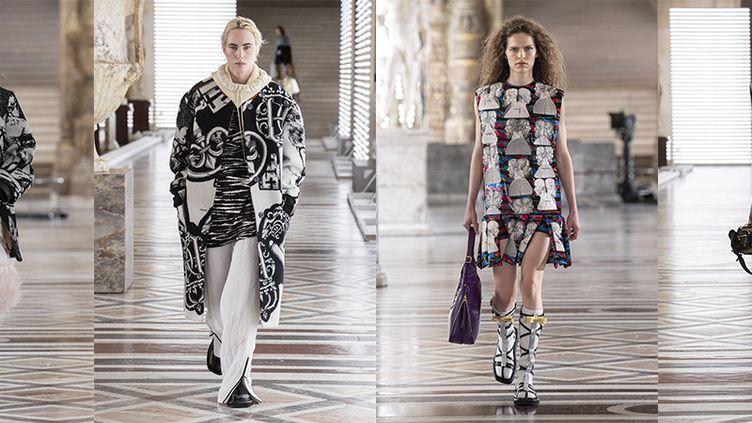 Louis Vuitton automne-hiver 2121-22 à la Paris Fashion Week, le 10 mars 2021 (Louis Vuitton)