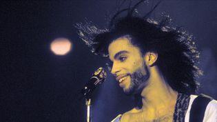 Prince Rogers Nelson sur scène en juin 1990 à Rotterdam (Pays-Bas).  (Frans Schellekens/Redferns/Getty Images)