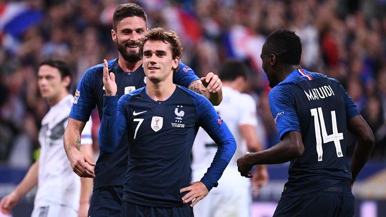 Griezmann a signé un doublé (FRANCK FIFE / AFP)