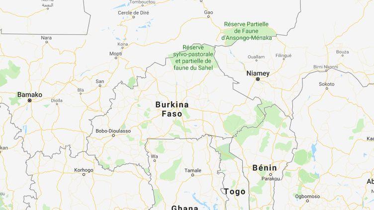 Quatre catholiques ont été tués, le 13 mai 2019 lors d'une procession sur la commune de Zimtanga, dans le nord du Burkina Faso. (GOOGLE MAPS)