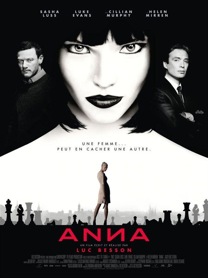 """L'affiche du film de Luc Besson""""Anna"""". (Pathé Distribution)"""