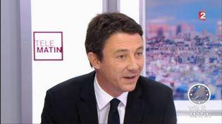 Benjamin Griveaux, secrétaire d'État auprès du ministère de l'Économie et des Finances. (FRANCE 3)