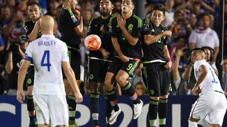 Le Mexique a représenté un mur infranchissable pour les Etats-Unis (MARK RALSTON / AFP)