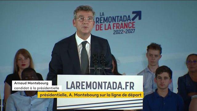 Politique : Arnaud Montebourg officialise sa candidature pour la présidentielle de 2022