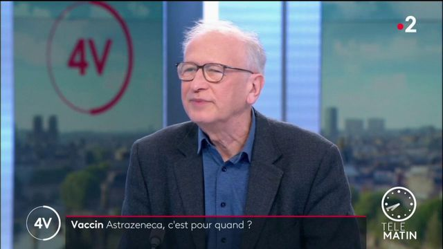 VIDEO. Le vaccin AstraZeneca sera disponible en France mi-février, assure Alain Fischer